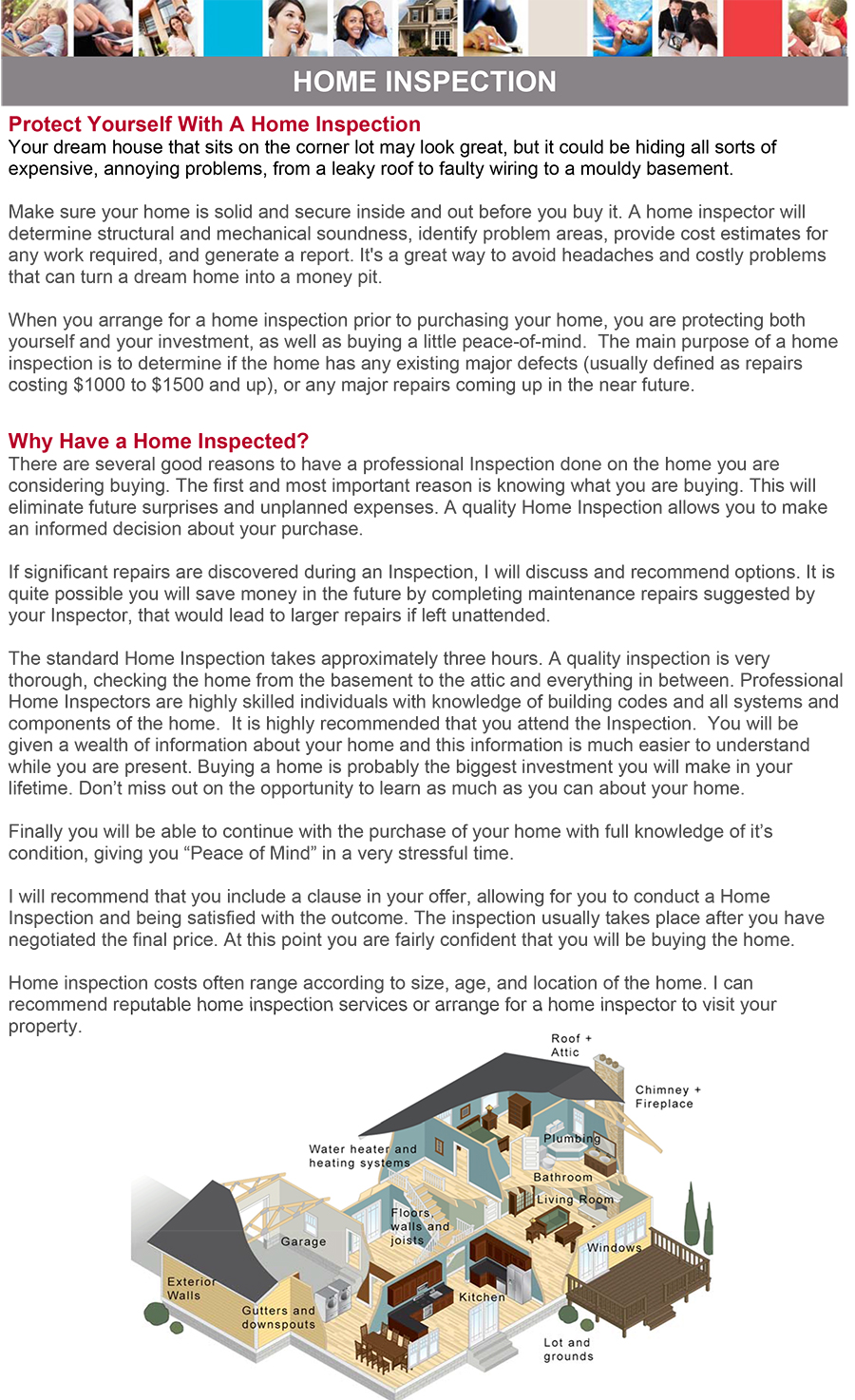 Buying A Home - Get A Home Inspection